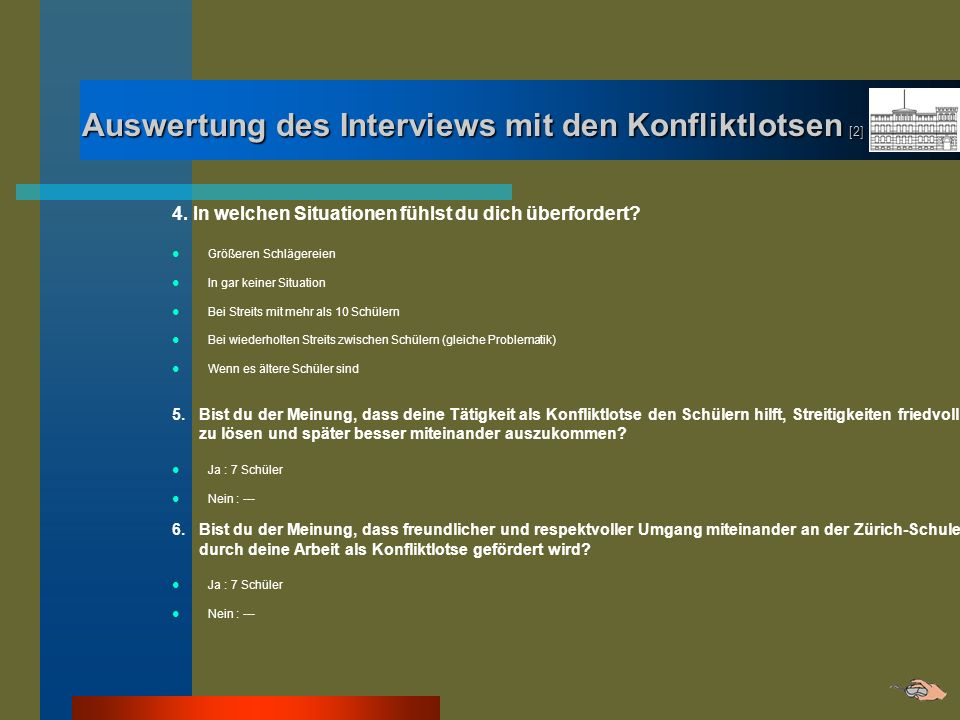 Auswertung des Interviews mit den Konfliktlotsen [2]